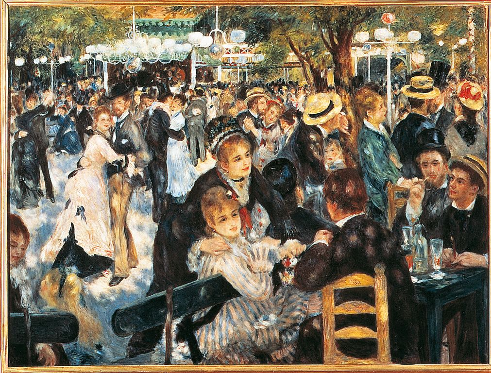 Renoir Dance at le moulin de la galette